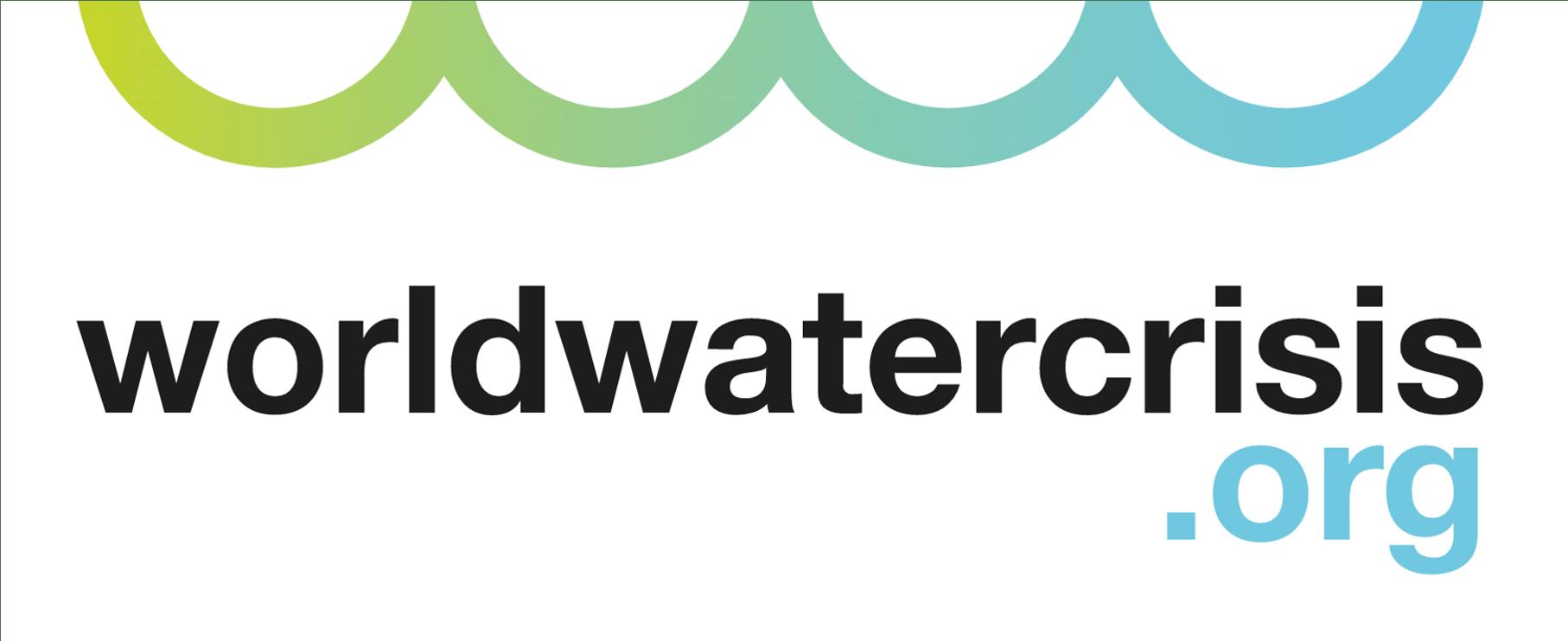 World water crisis logo