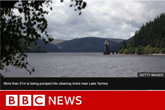 bbc news headline with lake and mountains
